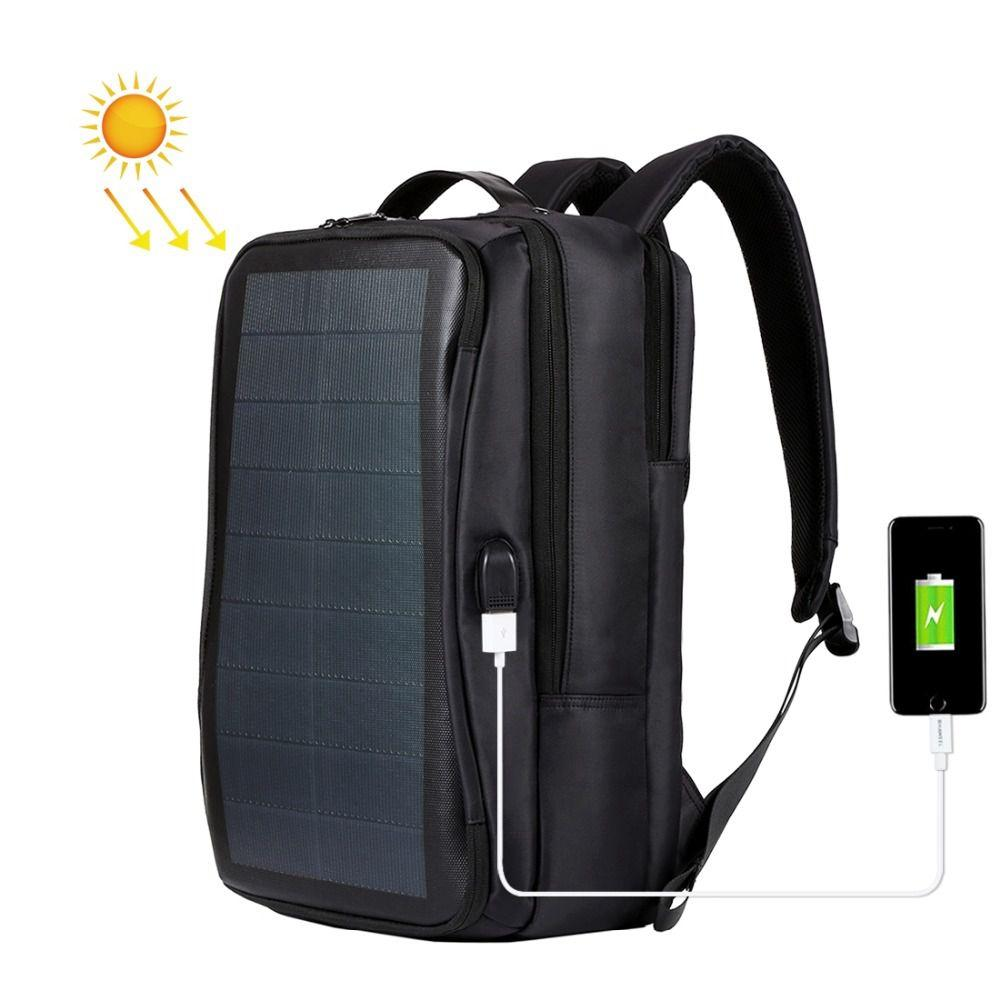 5ba094066856 HAWEEL Outdoor Solar Backpack Bags Flexible Solar Panel 14W Power ...