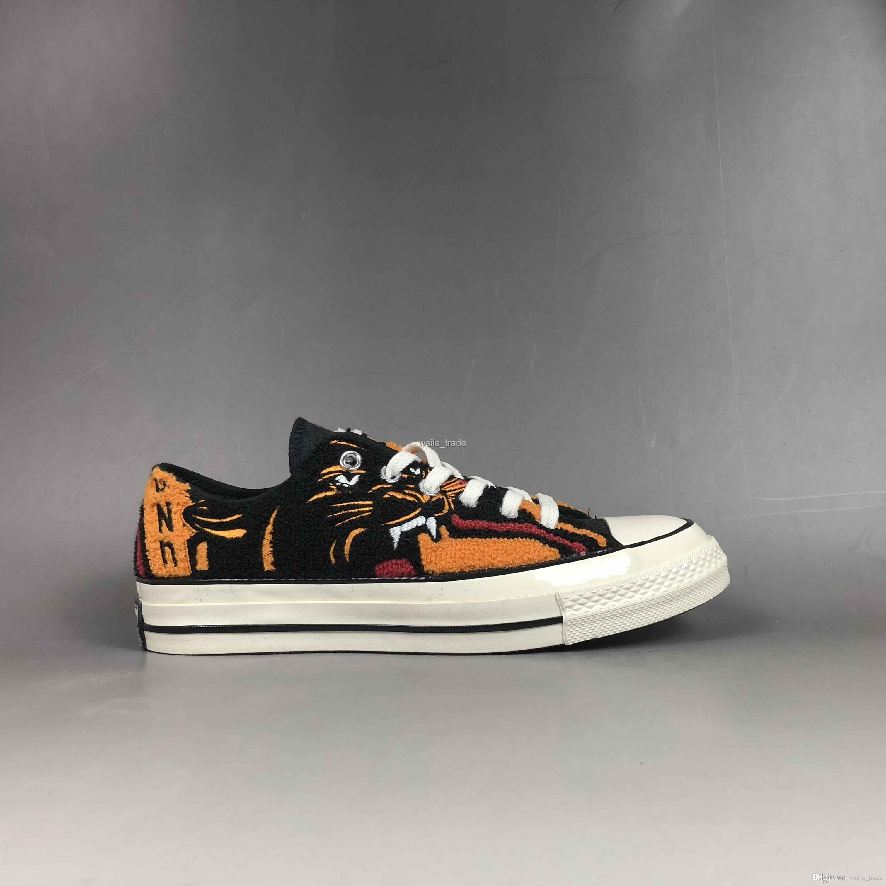 f4be6194065af9 2019 New Undefeated X Chuck 1970 Ox Low Casual All Star Fashion Taylor  Tiger Canvas Designer Women Men Trainers Shoes Sneakers 35 44 Shoes Uk  Pumps Shoes ...