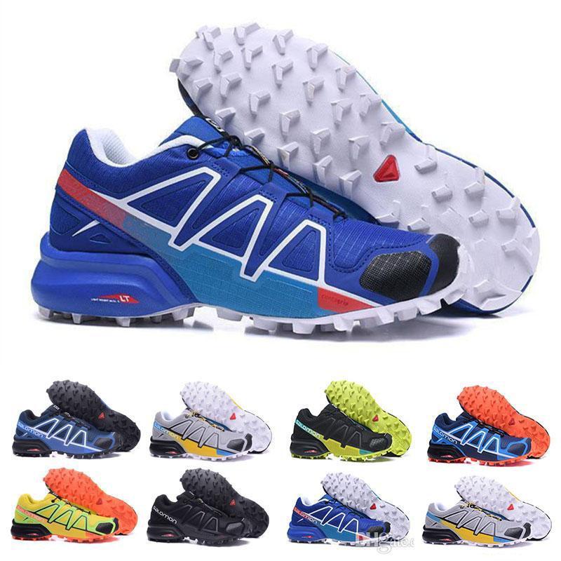792fc46d623a Speed Cross 4 CS IV Running Shoes Men Women Outdoor Walking Jogging ...