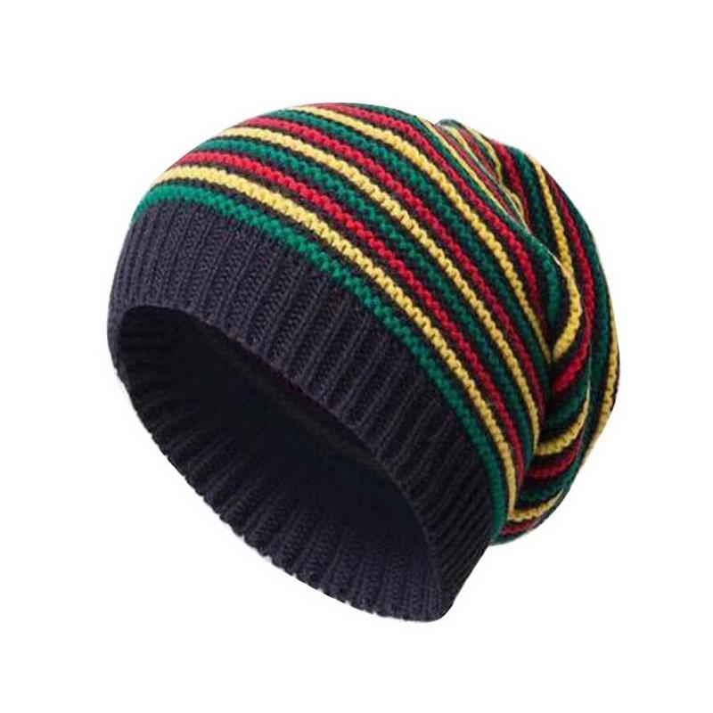 435da73ec22 2019 NIBESSER Winter Hats For Woman Warmer Bonnet Ladies Casual Cap Girls  Autumn Female Stripe Beanies Knitted Solid Hat Beanie Caps From Sportsun