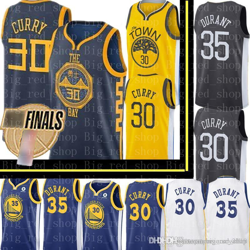 best service eab03 ede5b 2019 City Stephen 30 Curry Golden New State Mens Warriors Jersey ...