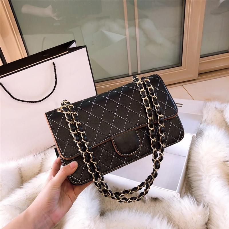 8a37634247 AAA Quality Luxury Brand Bags Fashion Women Chain Bag Messenger Shoulder Bag  Lady Bags Famous Designer Handbags Wholesale Bags Over The Shoulder Bags  From ...