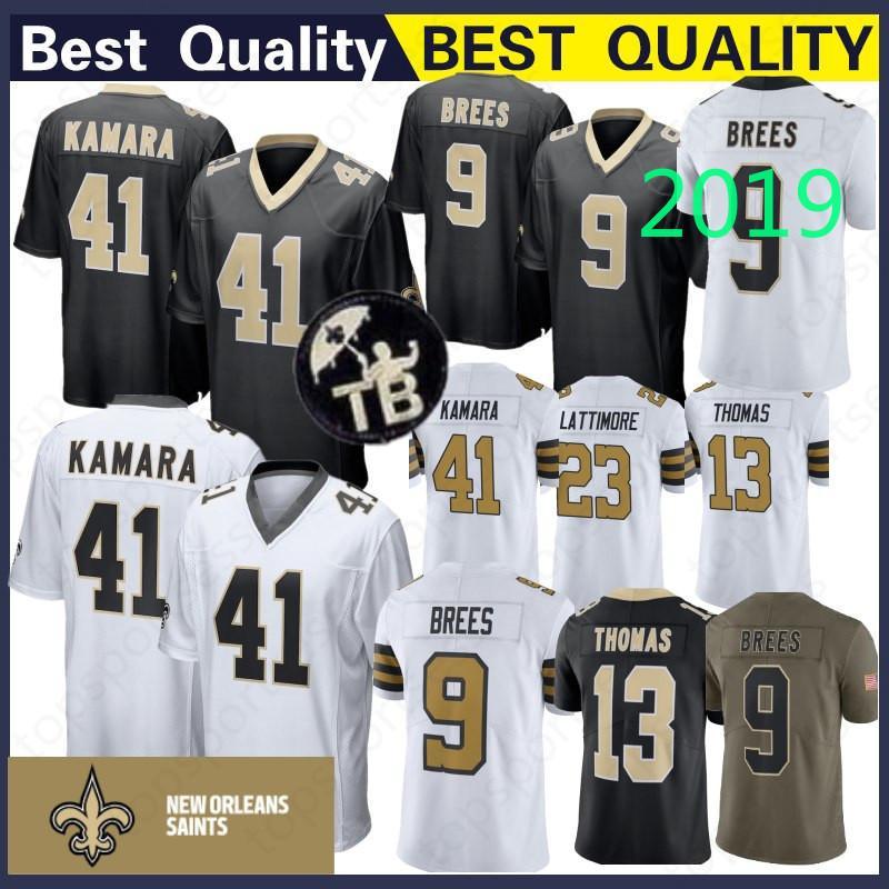 1c26ee162 New Orleans Saints 41 Alvin Kamara Jersey 13 Michael Thomas 23 ...