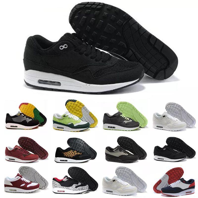 nike air max airmax 87 90 2018 87 90 Malla Tavas camuflaje para mujer zapatos para hombre Auténtico Thea Negro Rojo Blanco Aire Caushion Sports