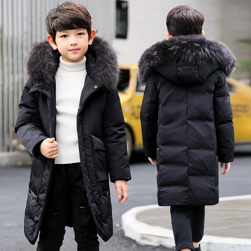 Winterjas Kind 2019.Olekid 2019 Children Winter Jacket For Boys 5 14 Years Kids Boys