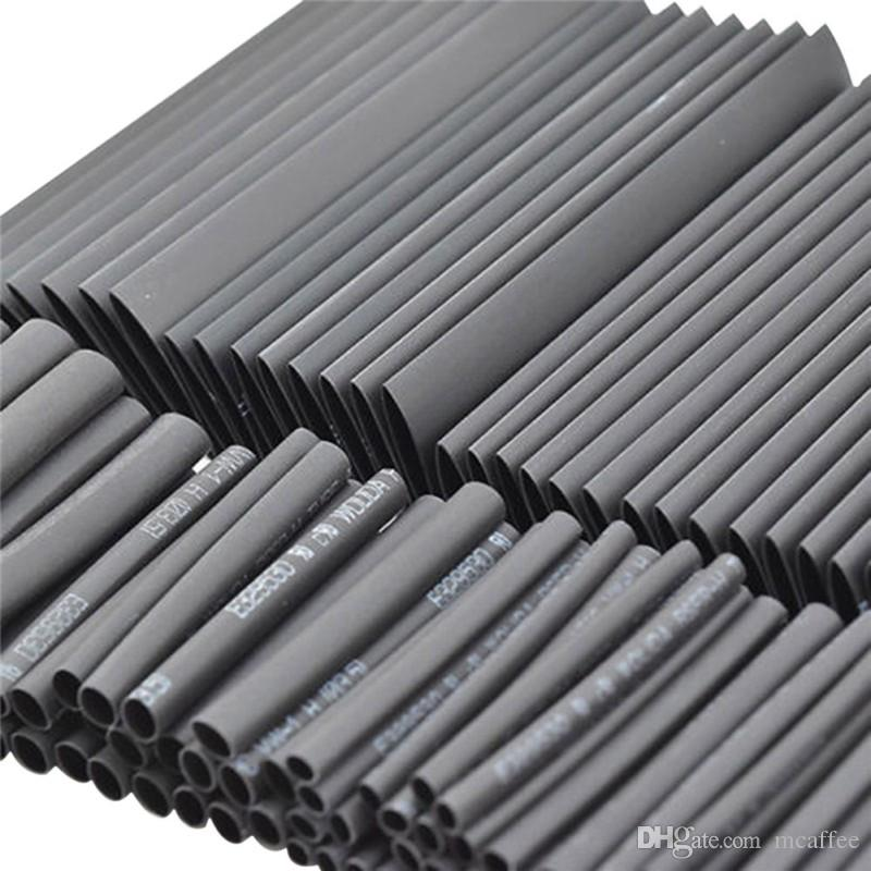 Wire Insulation Tube | Black Heat Shrink Tube Assortment Wrap Electrical Insulation Cable
