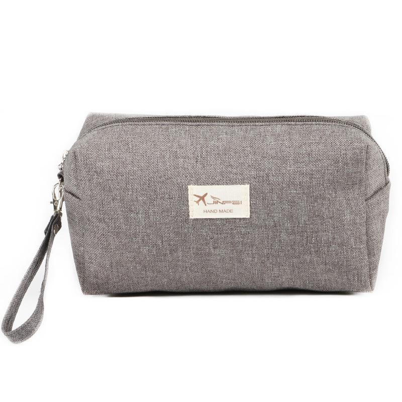 2d5b7acc69ba 2018 Korean Style Toiletry Bags Canvas Travel Cosmetic Bag Small Organizer  Women Makeup Bag Neceser Make up Case Beauty Storage