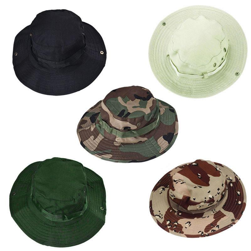 Bucket Hat Boonie Hunting Fishing Outdoor Wide Cap Unisex Men Hat Fedoras Summer Hats For Women Retro Bucket Z0125