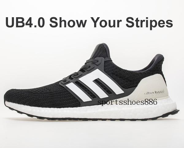 2019 UltraBOOST by Running at DHgate, 2019 Ultra Boosts fashion Shoes product size 13 Men Women Sneakers choice Triple White Black Multi