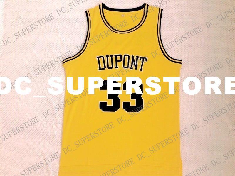 b1b2a04bf76 Cheap Custom Vintage  33 Jason Williams Jersey Dupont High School ...