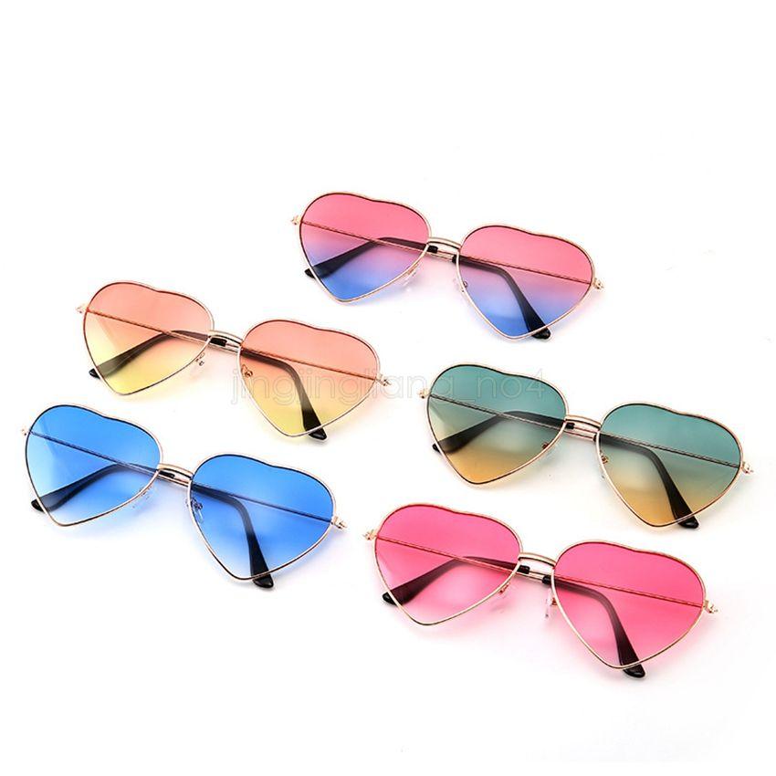 7d058e4ddf Fashion Heart Women Sunglasses Outdoors Sports Spectacles Girl ...