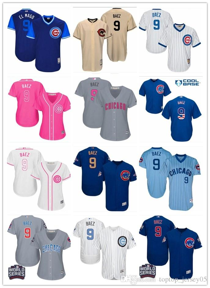 finest selection 402f5 652ac cubs baez youth jersey