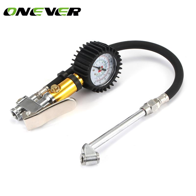 2019 220PSI Tire Inflator Pressure Gauge Air Chuck Heavy Duty