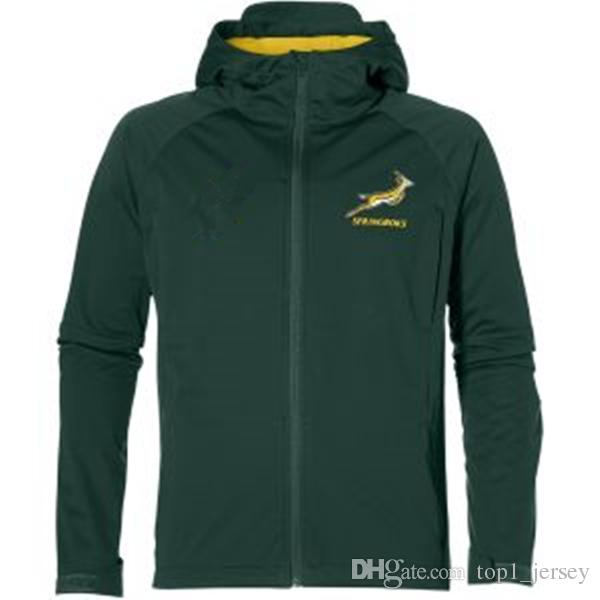 2018 2019 2020 South Africa Home Jersey Springbok Side Liner Jacket