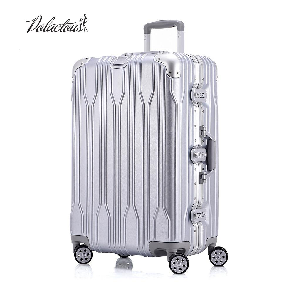 "20 ""24"" 26 ""28"" and rods and PC TSA scratches travel trolley case rolling luggage suitcase with wheels"
