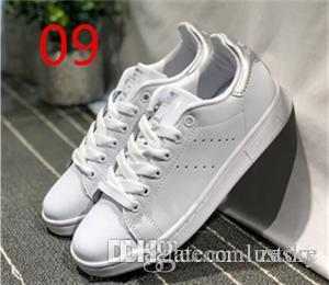 a7eb10c156b5 2018 HOT SALE Originals Stan Smith Shoes Women Men Casual Leather ...