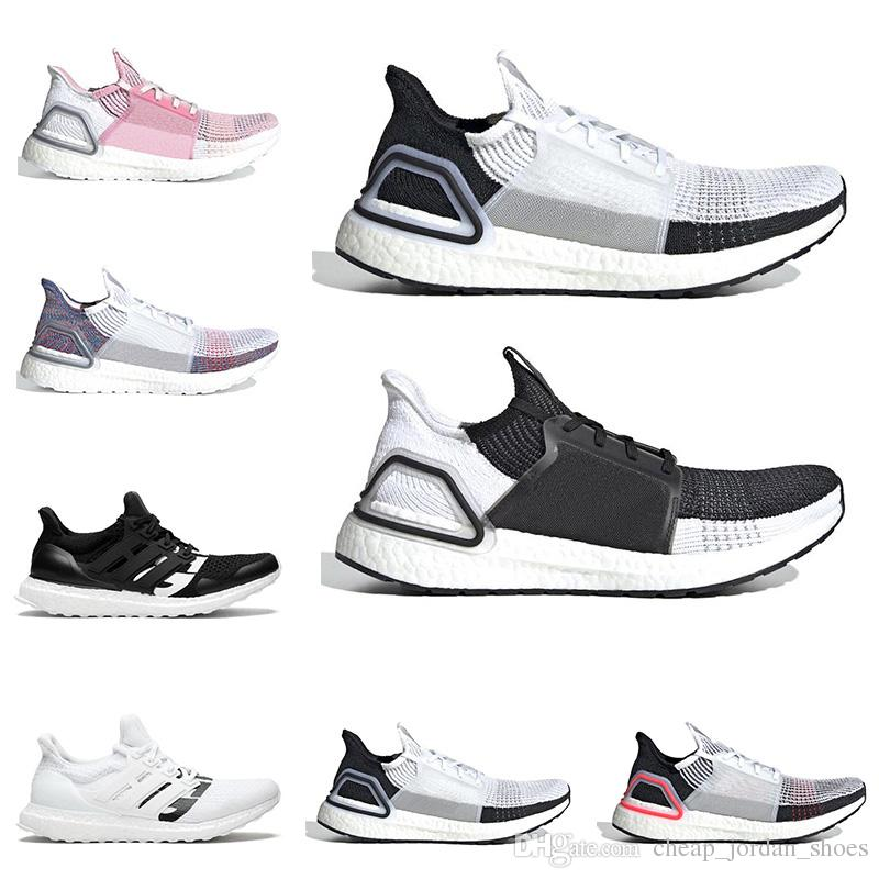 39e6865df0d21 2019 Ultra Boost Ultraboost 19 Running Shoes For Men Women Undefeated Cloud  White Oreo True Pink Mens Trainer Breathable Sports Sneakers Trail Running  Shoes ...