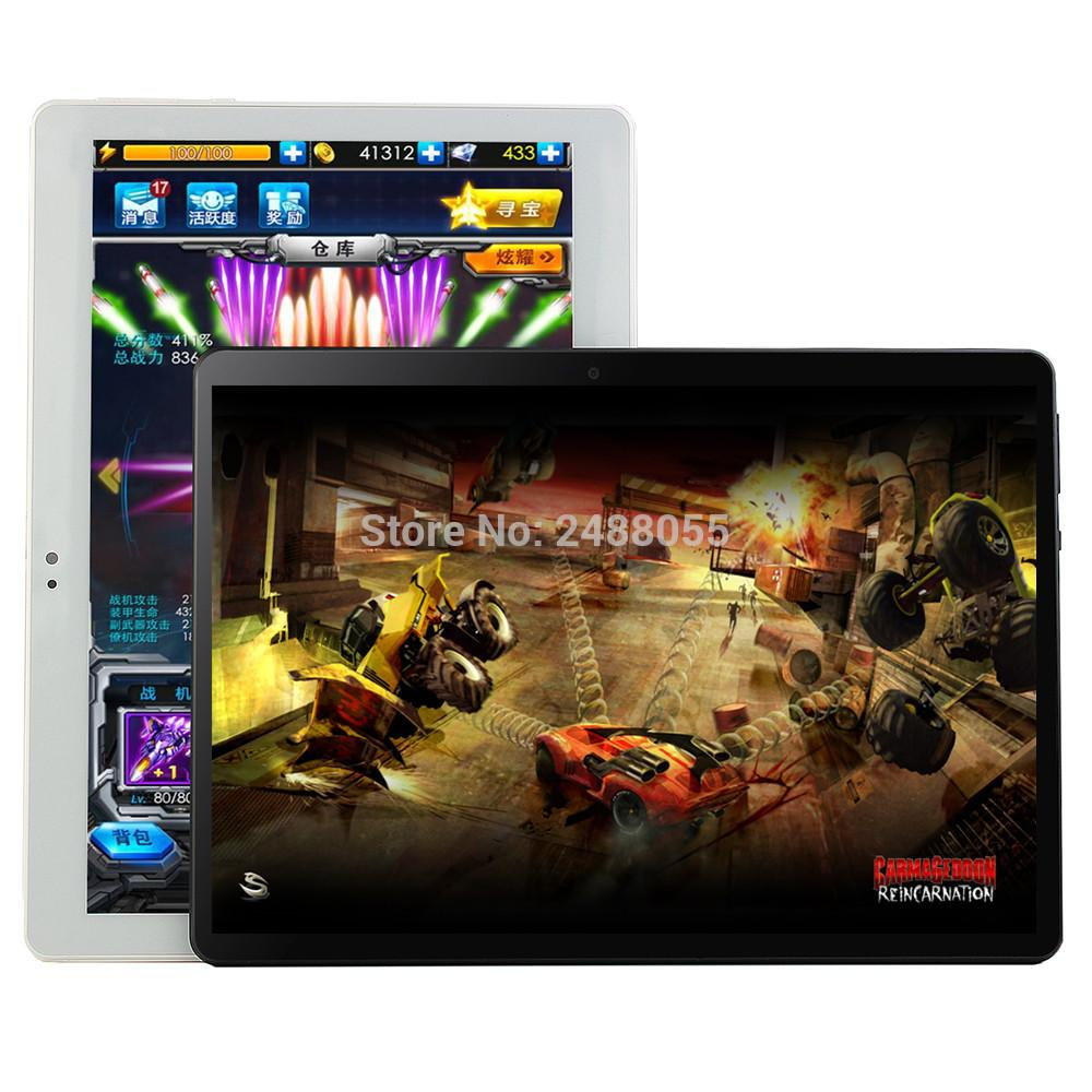 Super Tempered 10 inch tablet Android 9.0 Octa Core 6GB RAM 128GB ROM 8 Cores 1280*800 IPS Screen Tablets 10.1 + Gift