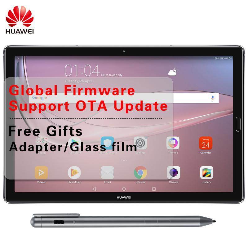 Global Firmware Huawei Mediapad M5 Pro 10 8 inch 2K Screen Android 8 0  Tablet PC Octa Core 4GB RAM 64GB ROM Kirin 960 Face ID