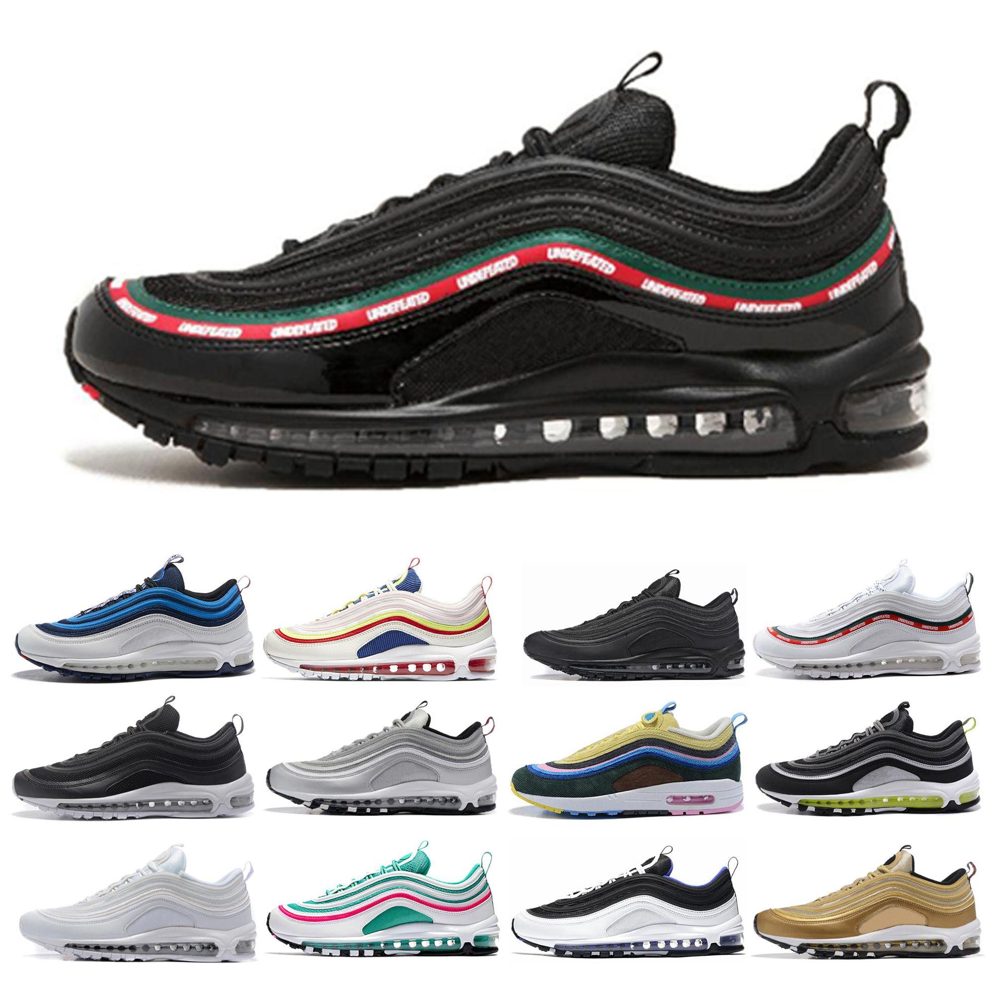 833160815 97 OG Mens Designer Running Shoes 2019 Women Undefeated Chaussures ...