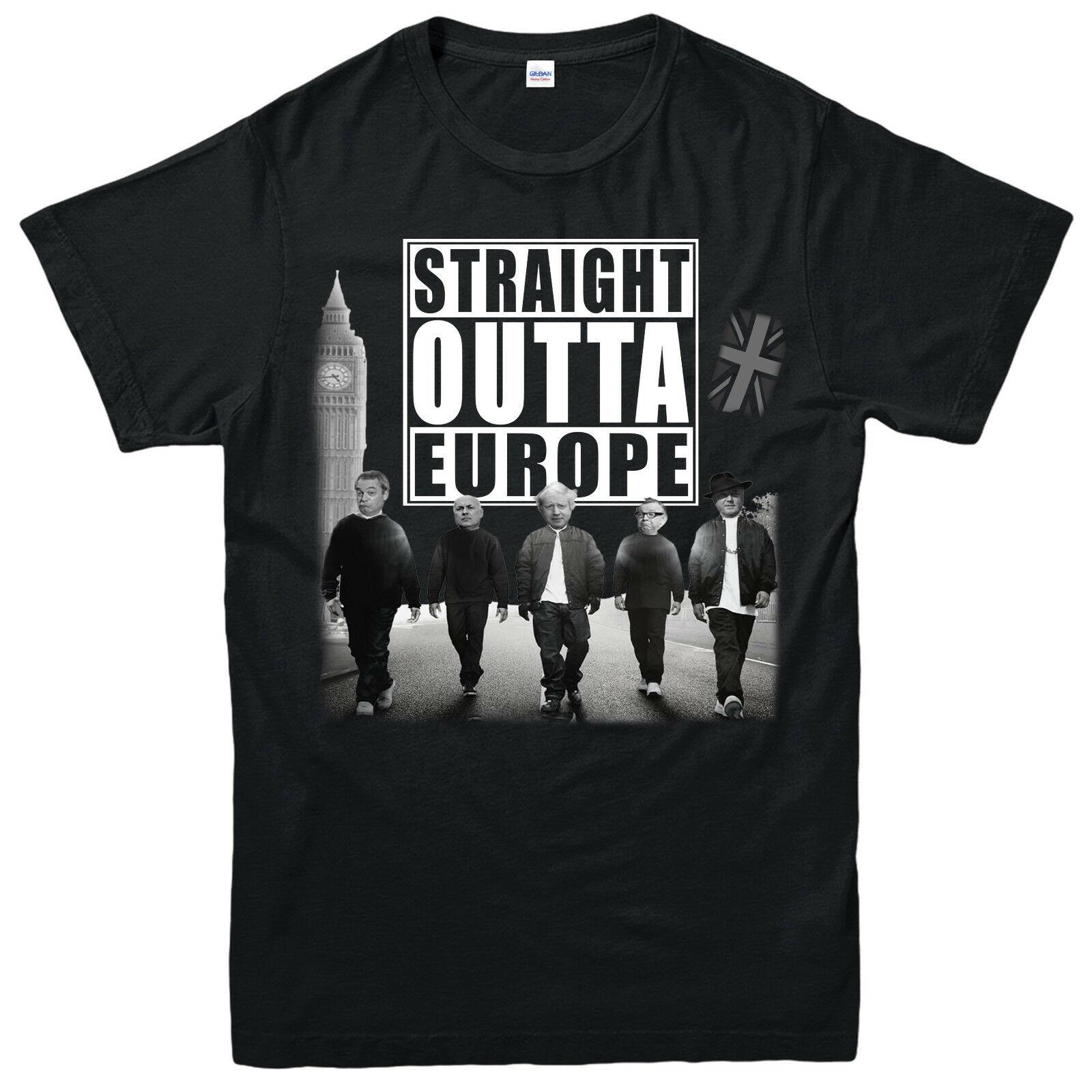 1ae88cb47 STRAIGHT OUTTA EUROPE BREXIT T Shirt, European Union Gift, Adult & Kids Tee  Top Cool Team Shirts Crazy Shirt Designs From Jasmine86, $11.48| DHgate.Com