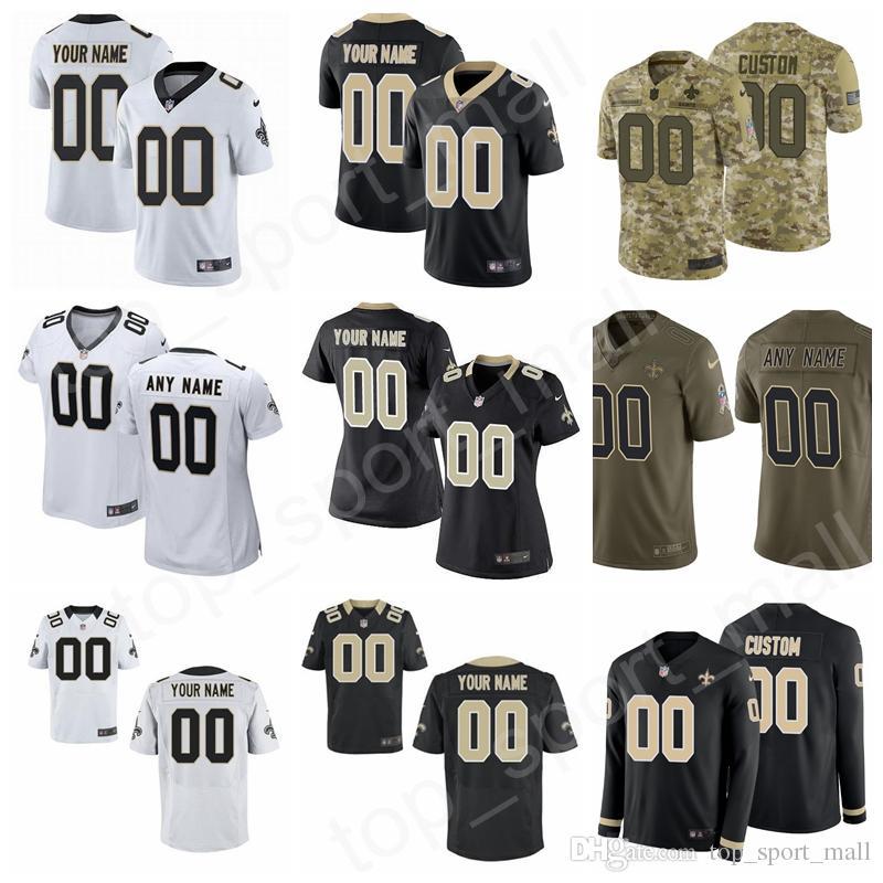 low priced d2b6b 4d2dd Custom Name Man Woman Kids New Orleans Football Saints Jersey 9 Drew Brees  Mark Ingram II Smith Benjamin Watson Davis Bell Klein Josh Hill