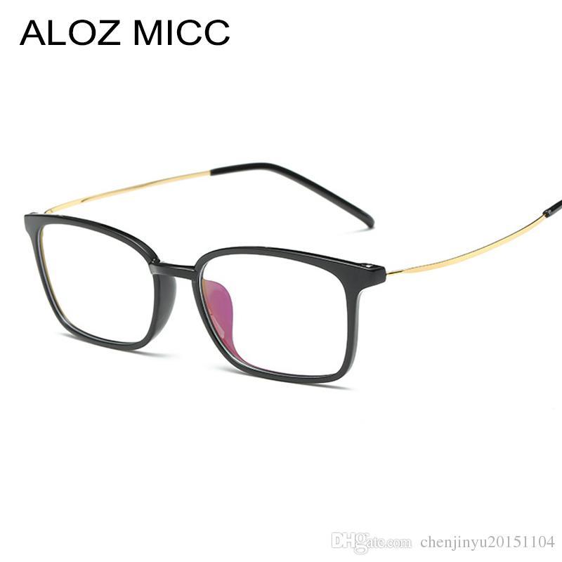 1479710c7b6 ALOZ MICC 2019 New Men Glasses Frame Retro Designer Myopia Brand ...