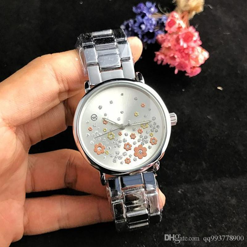 2019 reloj mujer fashion designer New brand simple silver wrist watches full diamond watch women watches Ladies dress luxury bracelet clock