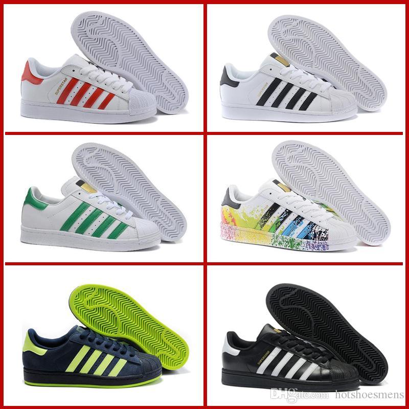 Allstar Superstars Iridiscente Sneakers Originals Blanco