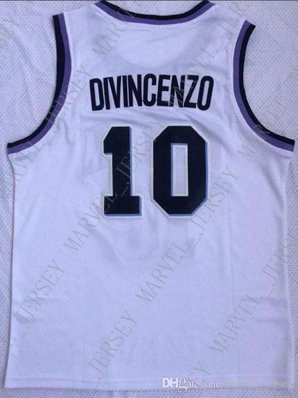 ffa2c4f4e 2019 Cheap Wholesale Donte DiVincenzo Jersey 10 Villanova Wildcats Sewn College  Basketball Jersey Customize Any Name Number MEN WOMEN YOUTH From ...