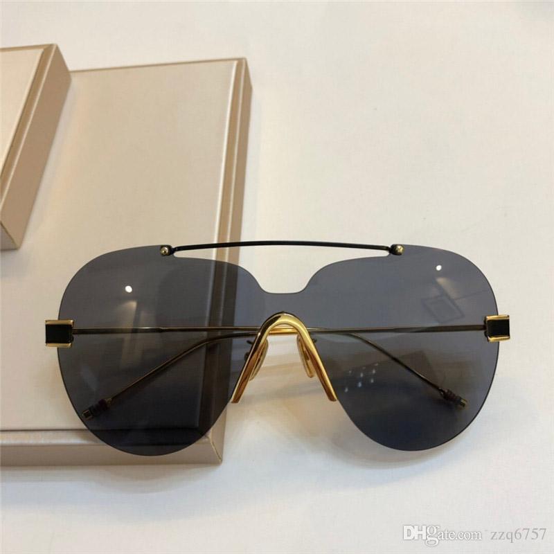ec4c8c7092 Compre 2018 Nuevo Diseñador De Moda Gafas De Sol 992 Gafas Sin Marco De  Calidad Superior Uv400 Gafas De Protección Al Aire Libre Estilo Simple  Noble A ...