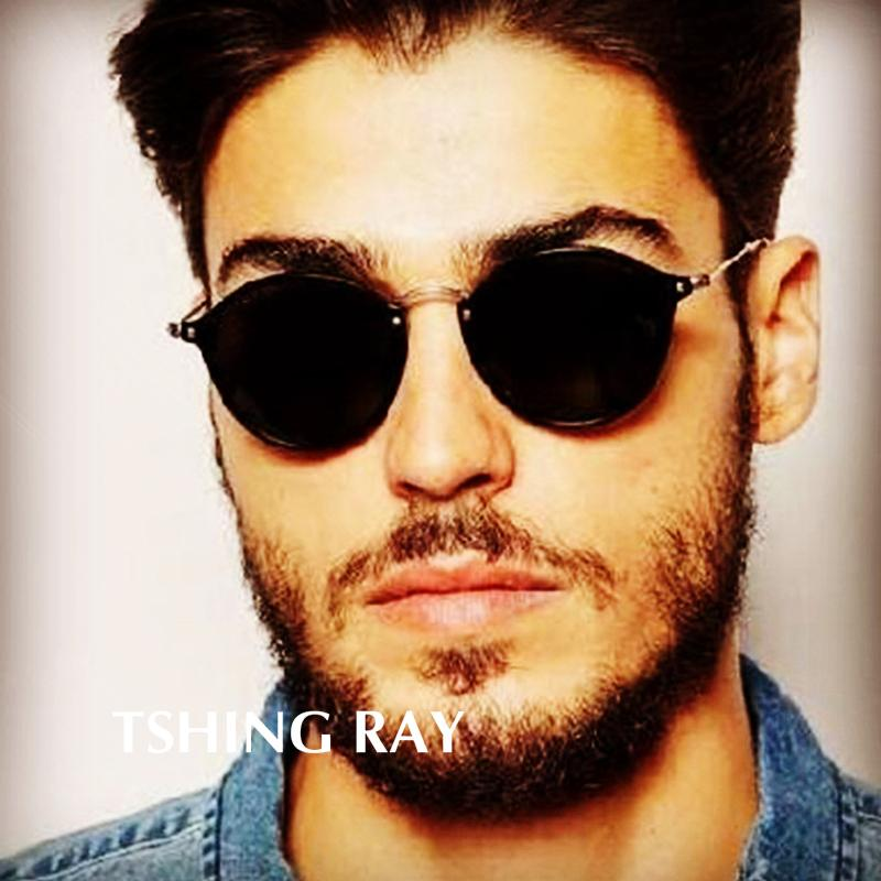 6b7f182dc60 TSHING RAY 2019 New Round Sunglasses Polarized Coating Retro Men Women  Brand Designer Sunglasses Vintage Circle Mirrored Glasses Cheap  Prescription ...