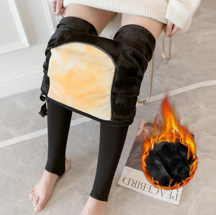 Velvet Maternity Leggings Pants For Pregnant Women Warm Winter Clothes Thickening Pregnancy Trousers Clothing Plus Size