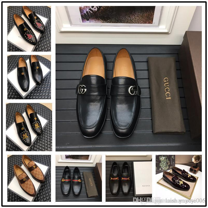 f639755ef 2019 Best High Quality Mens Multicolor Genuine Leather Buckle Loafers  Animal Snake Embroidery Driving Slippers Driver Shoes From Zhuzhu584,  $75.47 | DHgate.
