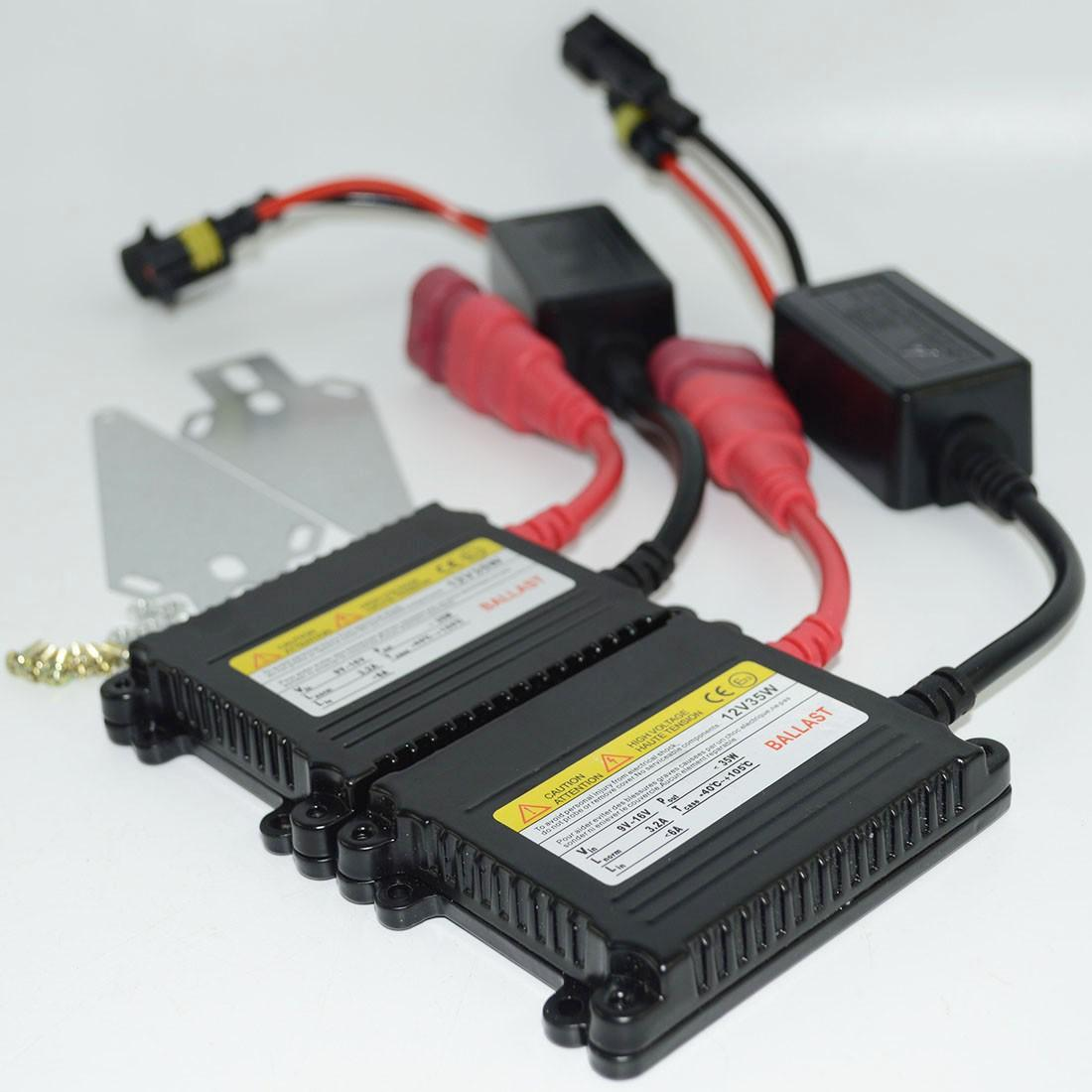 Car HID Replacement Ballast 35W 12V DC Slim Digital Xenon HID Ballast 35 Watt Free Shipping