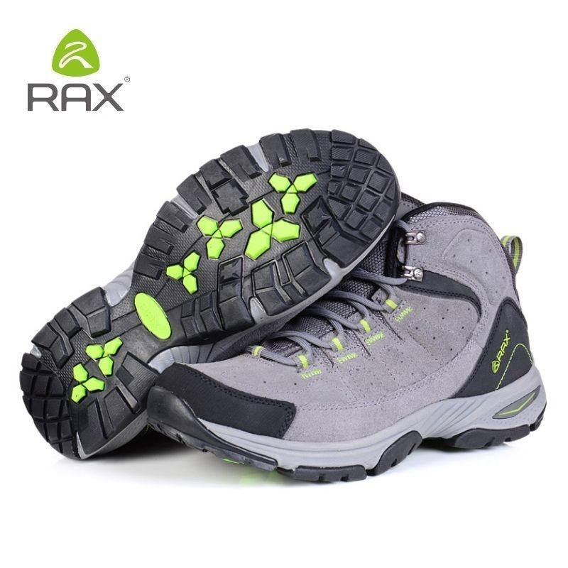 2728e3f2ef7 Rax Classics Style Men Hiking Shoes Lace Up Waterproof Men Sport Shoes  Outdoor Jogging Trekking Sneakers Man Comfort A359