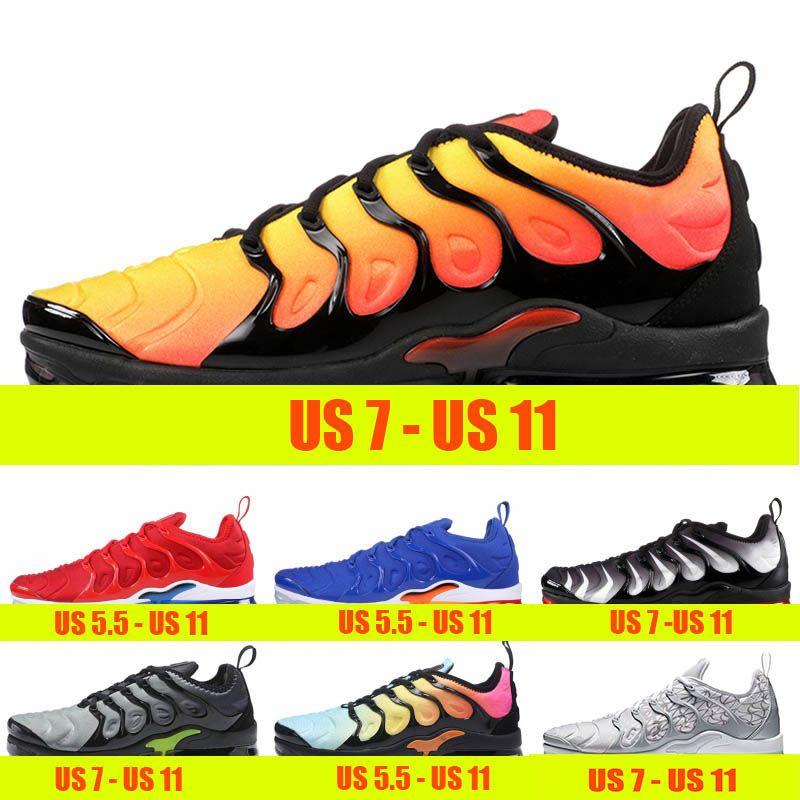 77235e7331 Compre Nike Air Max Vapormax TN Plus Almofada Tn Plus Mens Formadores  Sunset Triple S Branco Preto Mulheres Outdoor Sports Shoe BETRUE Jogo Royal  Metallic ...