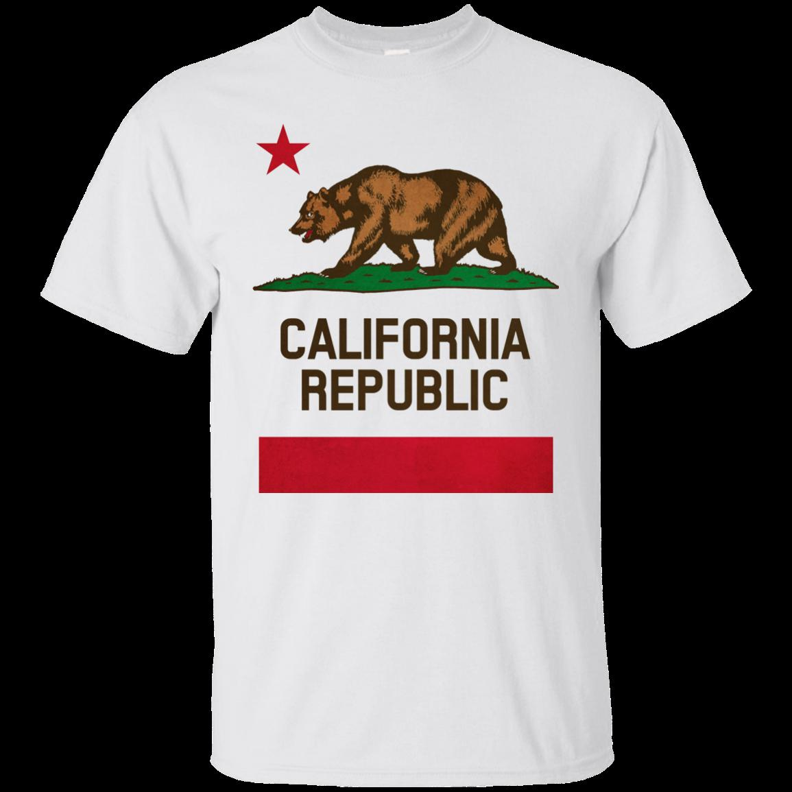 California State Flag Republic Bear Los Angeles Sacramento San