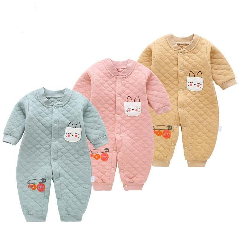 e358ebe20 2019 Good Quality Newborn Baby Cotton Rompers New Autumn Spring Long ...