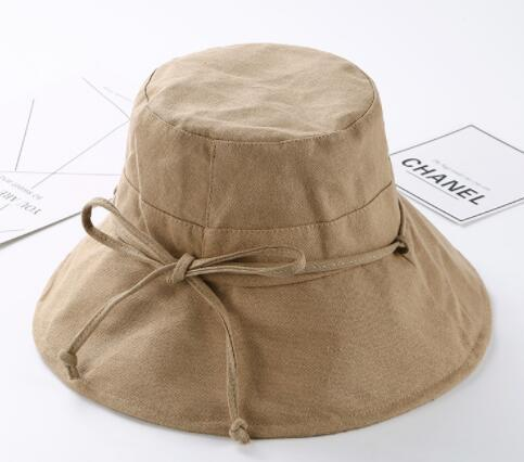 Fashion Bucket hat Summer Beach Hat Wide Brim for Women Foldable Fisherman floppy beach Sun Hat Supplies