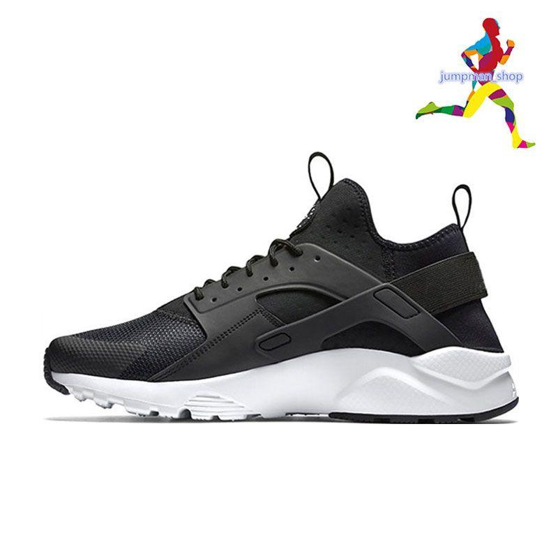 fdf7d62c3cf9 New Huarache Ultra Run Designer Shoes Triple White Black Red Men ...