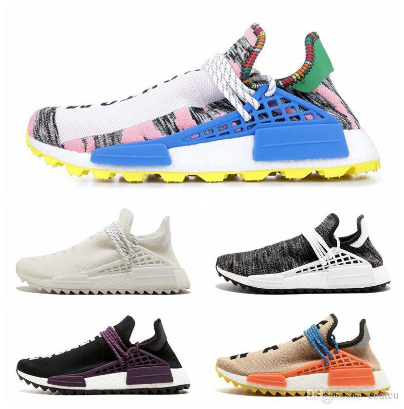 d761adedf 2019 2019 Human Race NMD Running Shoes Pharrell Williams Hu Trail ...