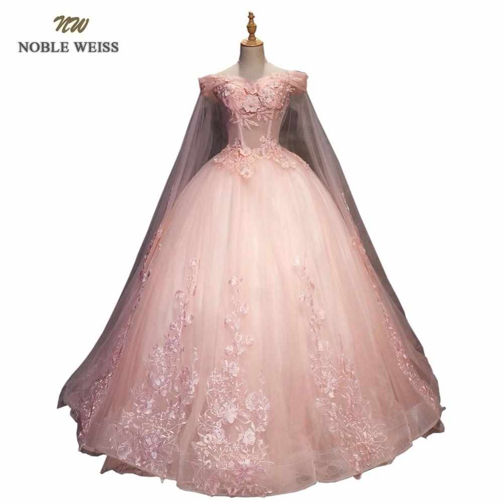 056fe3d0f205c Satın Al NOBLE WEISS Balo Quinceanera Elbiseler Yüksek Kalite ...