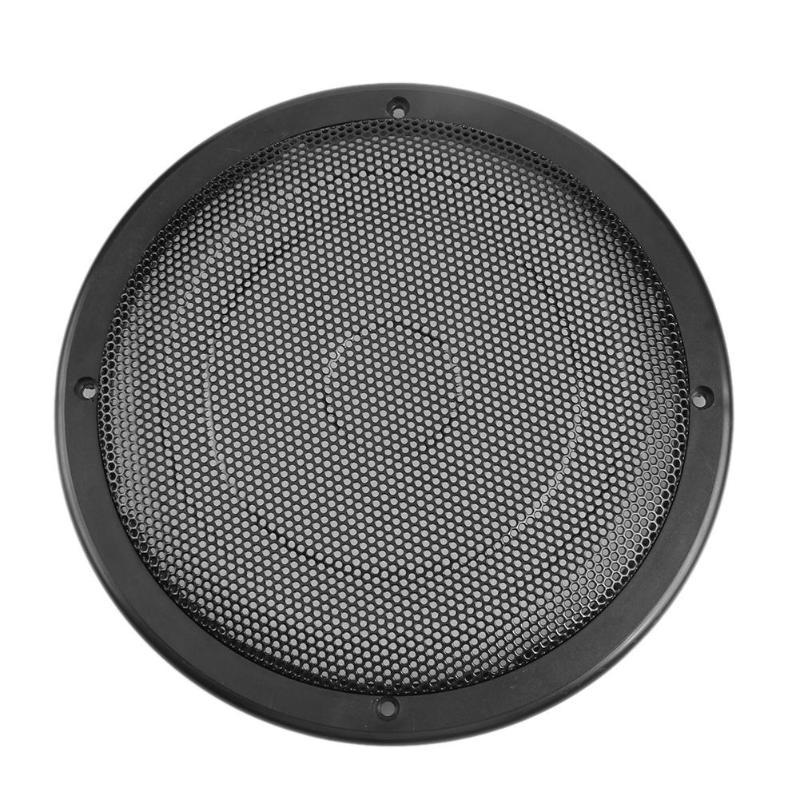 VODOOL 8 inch Car Stereo Speaker Metal Mesh Subwoofer Protective Grill Cover Auto Car Panel Coaxial Speakers Grilles Styling