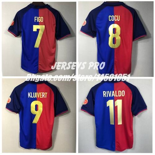 Compre Camp Nou 1999 2000 Retro Camisas De Futebol 100 Anos De ... af6da5d13a236