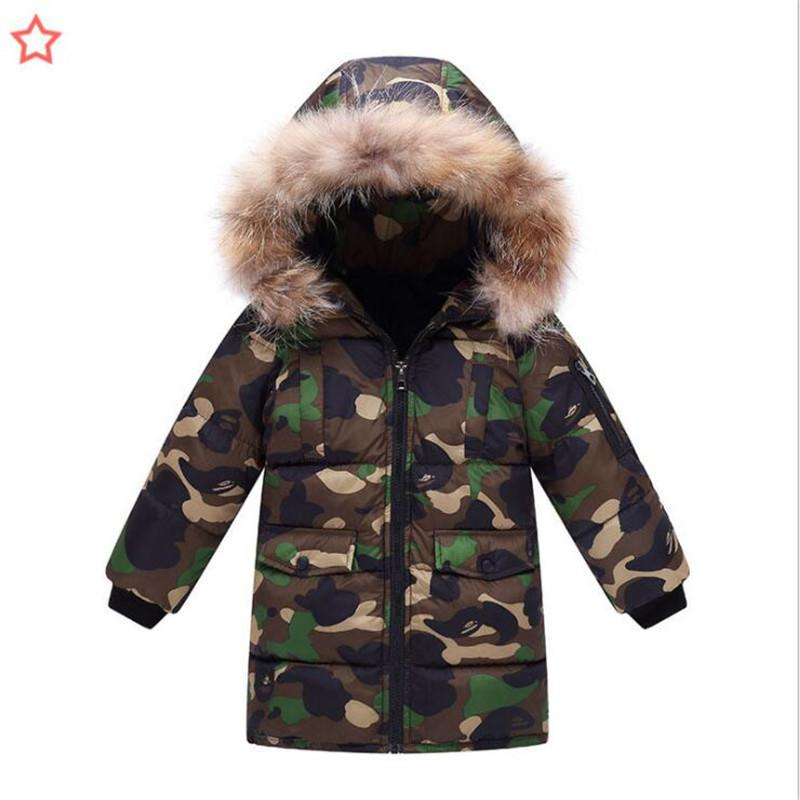 79ed1201a Good Quality Boys Baby Winter Jacket Boys Thick Warm Down Cotton ...