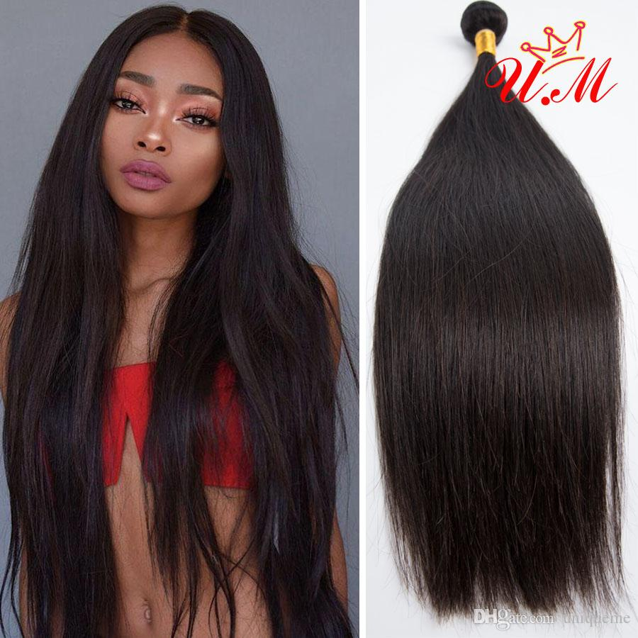 Malaysian Straight Human Hair 4 Bundles 100% Unprocessed Straight Human  Hair Weave For Black Women Wholesale Price Raw Virgin Indian Hair Real Human  Hair ... ff2546f40