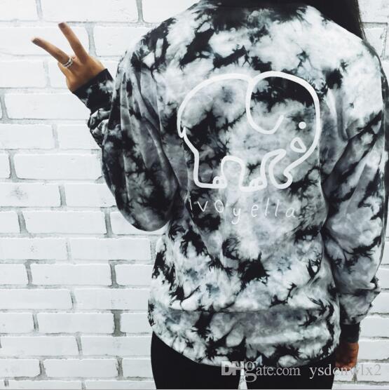375000f3e97fa 2018 Fashion Womens Designer Clothing Ivory Ella Elephant Printed T Shirt  Women Long Sleeves Women Tops Tee T Shirt Girl Tshirt Custom Shirt Black  Shirts ...