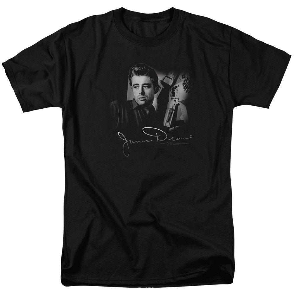 edd0cefb5ba55 Acheter James Dean T Shirts Débardeurs Pour Hommes Femmes Blanc, Noir,  Gris, Pantalon Rouge De $16.24 Du Shutcup | DHgate.Com