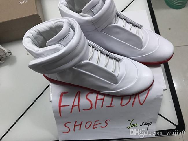 e279bd1ef2fc6 NEW HOT Wholesale Men Women Fashion Sneakers White Top Quality High ...